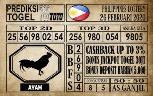 Prediksi Filipina PCSO Hari Ini