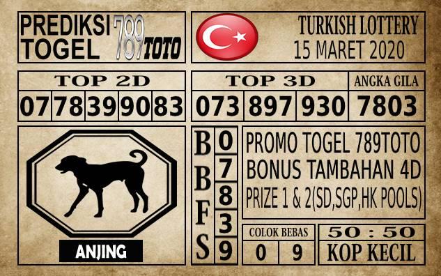 Prediksi Turkish Lottery Hari Ini 15 Mar 2020