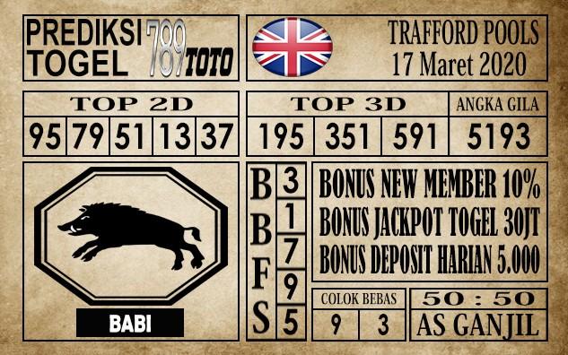 Prediksi Trafford Pools 17 Maret 2020