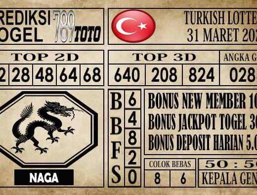 prediksi Turkish Lottery 31 Maret 2020