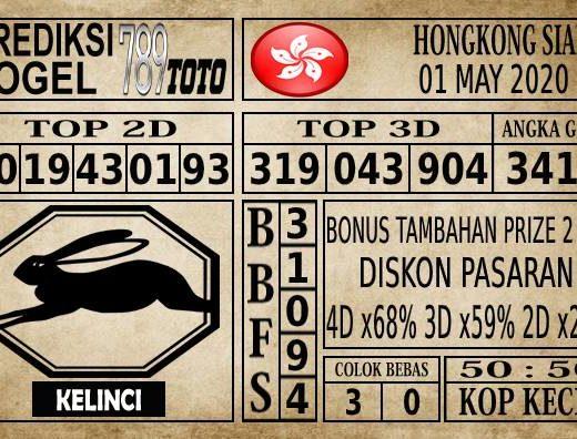 Prediksi Hongkong Siang Hari Ini 01 Mei 2020