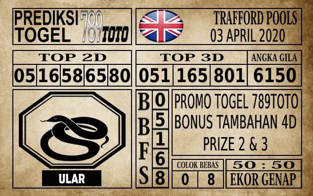 Prediksi Trafford Pools Hari Ini 03 Apr 2020