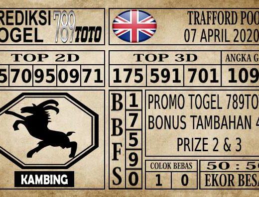 Prediksi Trafford Pools Hari Ini 07 Apr 2020