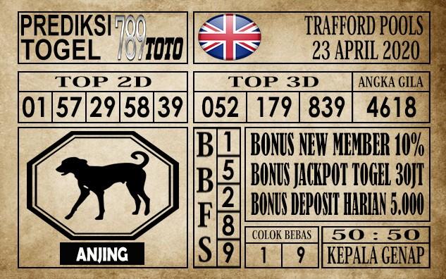 Prediksi Trafford Pools 23 April 2020