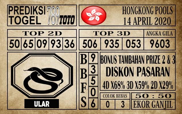 Prediksi Hongkong pools 14 April 2020