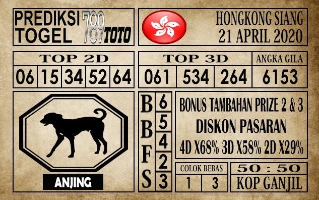 Prediksi Hongkong Siang Hari Ini