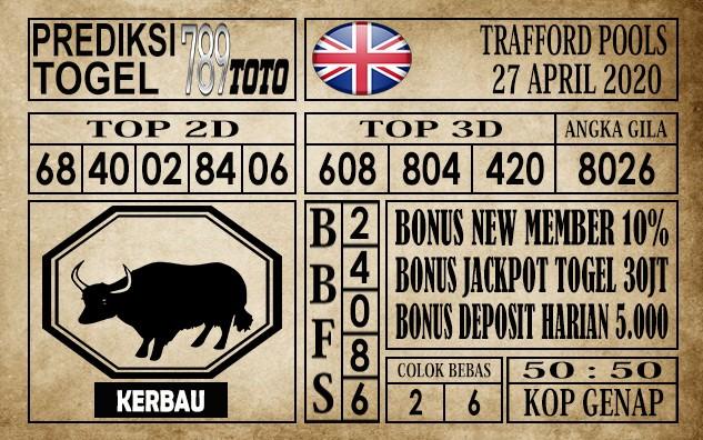 Prediksi Trafford Pools 27 April 2020
