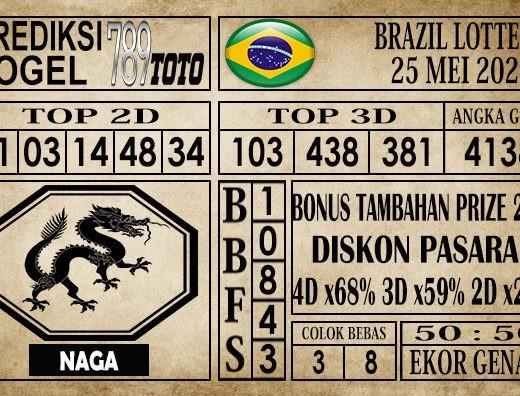 Prediksi Brazil Lottery 25 Mei 2020