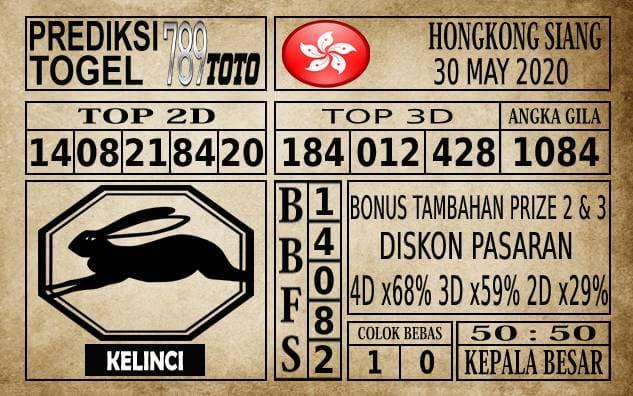 Prediksi Hongkong Siang Hari Ini 30 Mei 2020
