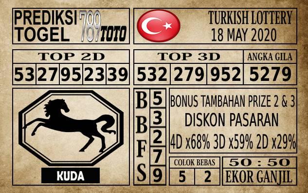 Prediksi Turkish Lottery Hari Ini 18 Mei 2020
