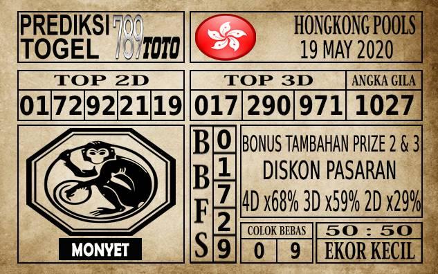 Prediksi Hongkong Pools Hari Ini 18 Mei 2020