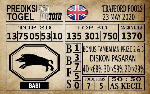 Prediksi Trafford Pools Hari Ini 23 Mei 2020