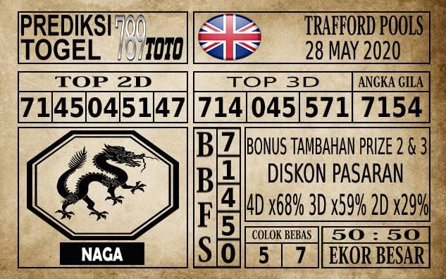 Prediksi Trafford Pools Hari Ini 28 Mei 2020
