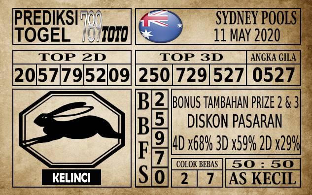 Prediksi Sydney Pools Hari Ini 11 Mei 2020
