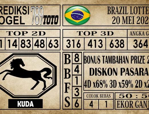 Prediksi Brazil Lottery 20 Mei 2020