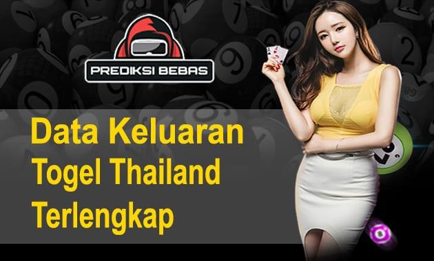 Data Keluaran Togel Thailand Terlengkap