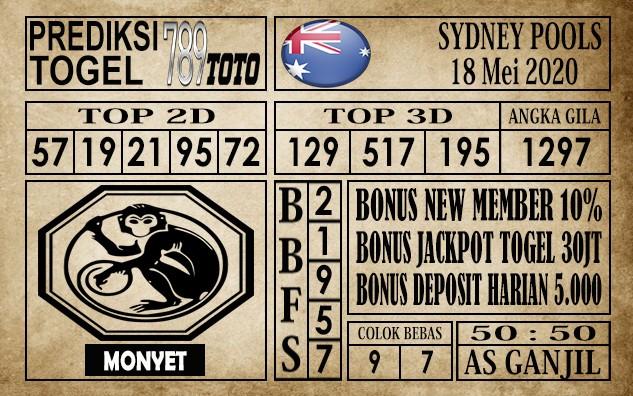 Prediksi Sydney Pools 18 Mei 2020