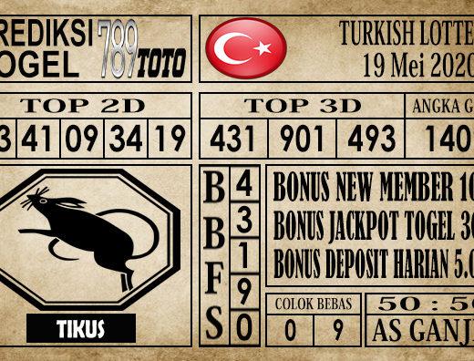 Prediksi Turkish lottery 19 Mei 2020