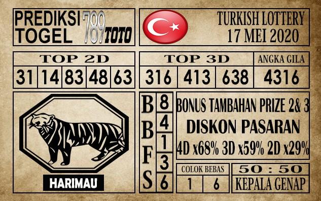 Prediksi Turkish Lottery 17 Mei 2020