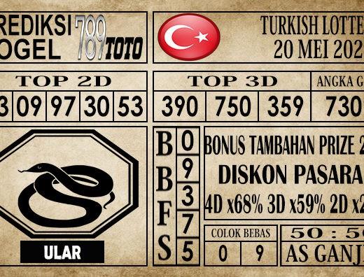 Prediksi Turkish Lottery 20 Mei 2020