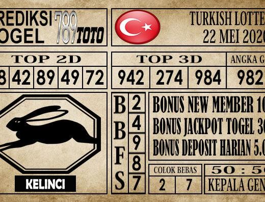 Prediksi Turkish Lottery 22 Mei 2020