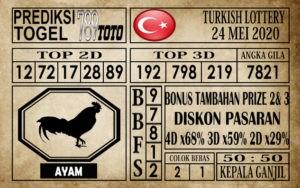 Prediksi Turkish Lottery 24 Mei 2020
