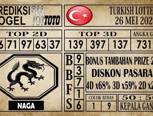 Prediksi Turkish Lottery 26 Mei 2020