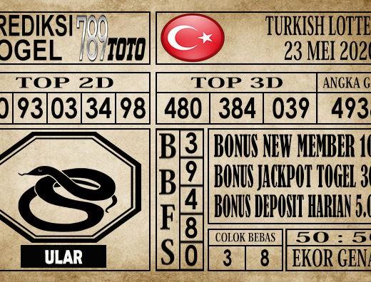 Prediksi Turksih Lottery 23 Mei 2020