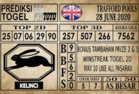 Prediksi Trafford Pools Hari Ini 28 Juni 2020