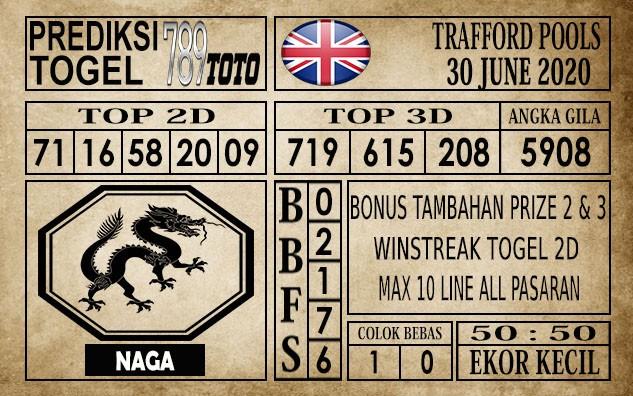 Prediksi Trafford Pools Hari Ini 30 Juni 2020