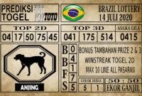 Prediksi Brazil Lottery Hari Ini 14 Juli 2020