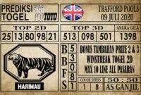 Prediksi Trafford Pools Hari Ini 09 Juli 2020