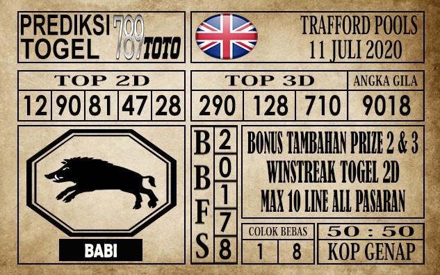 Prediksi Trafford Pools Hari Ini 11 Juli 2020