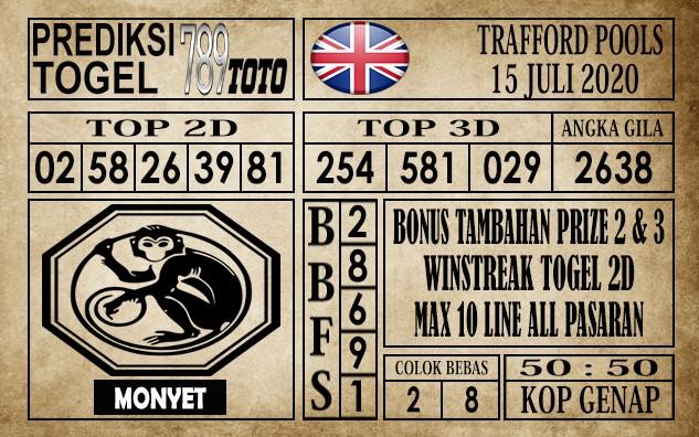 Prediksi Trafford Pools Hari Ini 15 Juli 2020