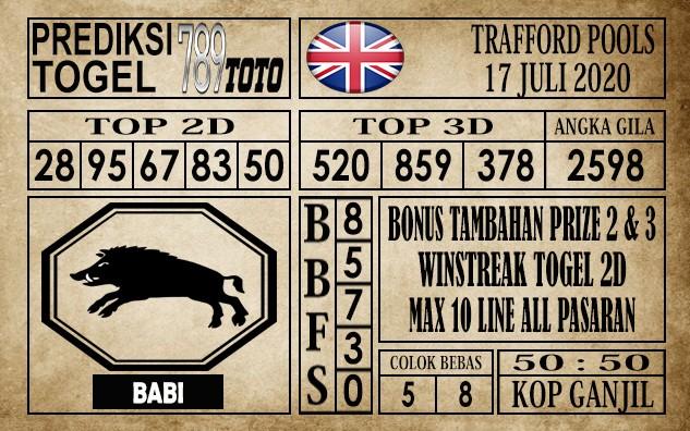 Prediksi Trafford Pools Hari Ini 17 Juli 2020