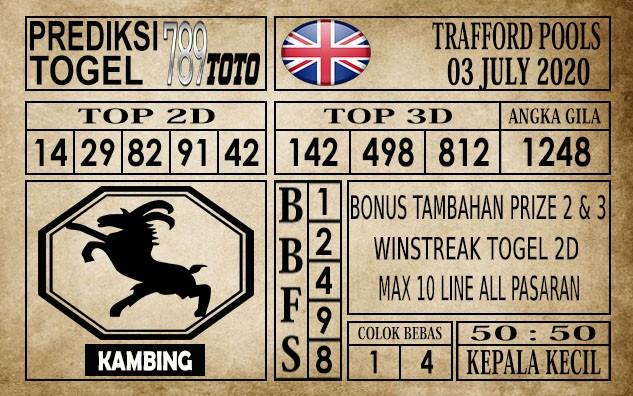 Prediksi Trafford Pools Hari Ini 03 Juli 2020