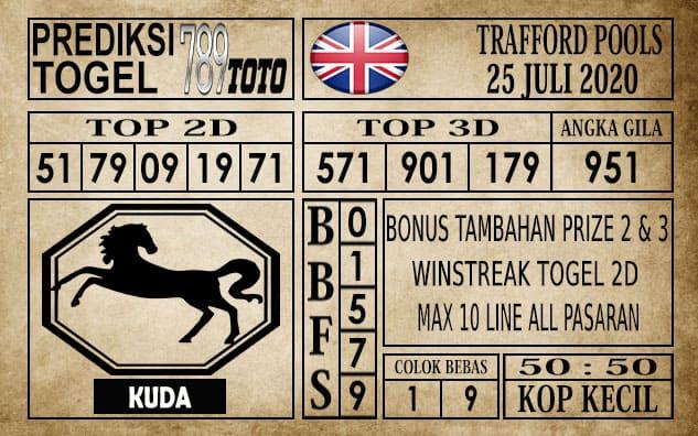 Prediksi Trafford Pools Hari Ini 25 Juli 2020