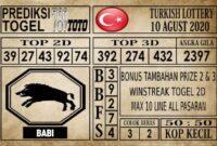 Prediksi Turkish Lottery Hari Ini 10 Agustus 2020