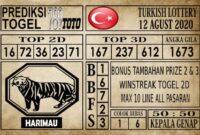 Prediksi Turkish Lottery Hari Ini 12 Agustus 2020