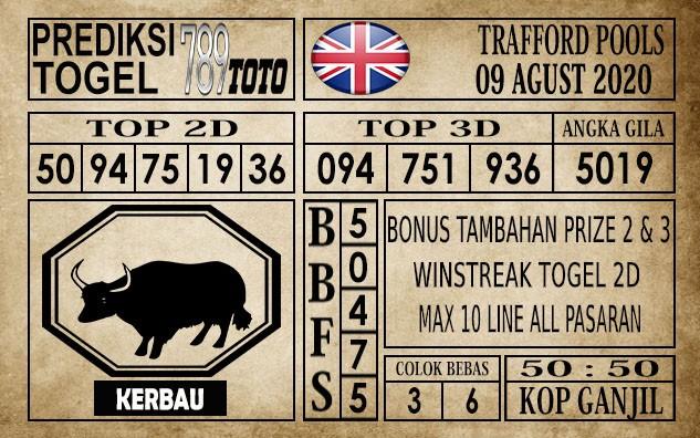 Prediksi Trafford Pools Hari Ini 09 Agustus 2020