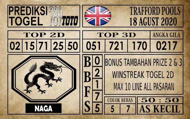 Prediksi Trafford Pools Hari Ini 18 Agustus 2020