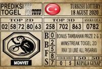 Prediksi Turkish Lottery Hari Ini 18 Agustus 2020