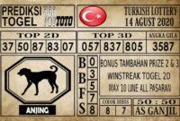 Prediksi Turkish Lottery Hari ini 14 Agustus 2020