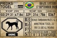 Prediksi Brazil Lottery Hari Ini 17 September 2020