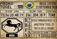 Prediksi Brazil Lottery Hari Ini 23 September 2020