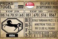 Prediksi Singapore Pools Hari ini 20 September 2020