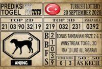 Prediksi Turkish Lottery Hari Ini 20 September 2020
