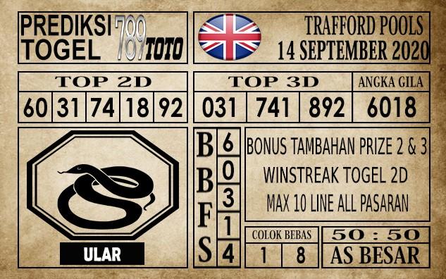 Prediksi Trafford Pools Hari Ini 14 September 2020