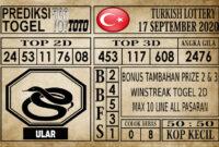 Prediksi Turkish Lottery Hari Ini 17 September 2020