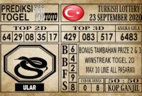 Prediksi Turkish Lottery Hari Ini 23 September 2020